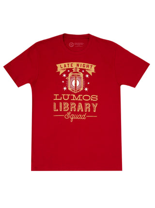 Lumos Library Squad (Glow in the Dark - Red) Unisex T-Shirt