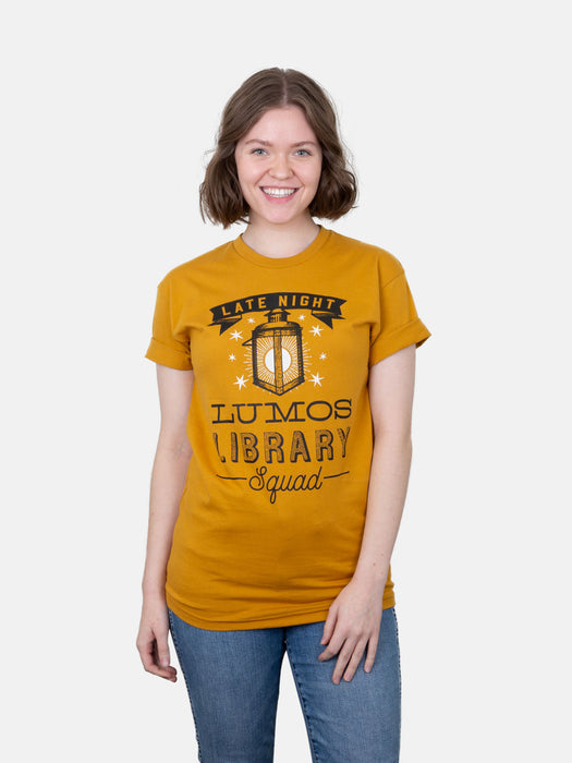Lumos Library Squad (Glow in the Dark - Yellow) Unisex T-Shirt