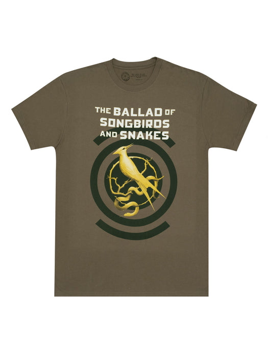 The Ballad of Songbirds and Snakes Unisex T-Shirt