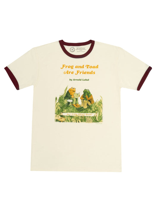 Frog and Toad are Friends Unisex Ringer T-Shirt