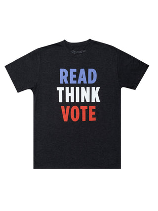 Read Think Vote Unisex T-Shirt