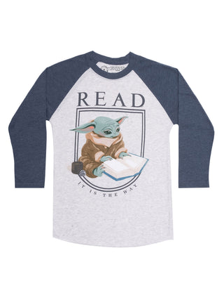 The Child Star Wars READ Unisex 3/4-Sleeve Raglan