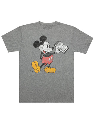 Disney Mickey Mouse Reading Unisex T-Shirt