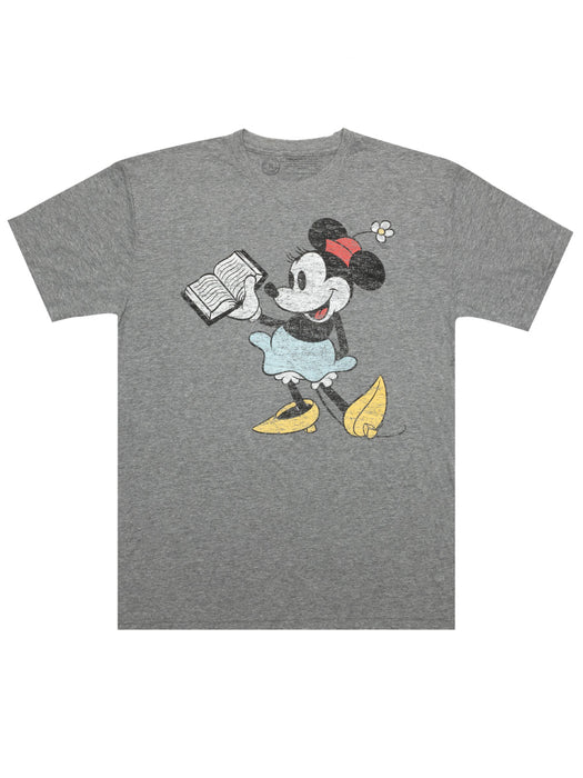 Disney Minnie Mouse Reading Unisex T-Shirt