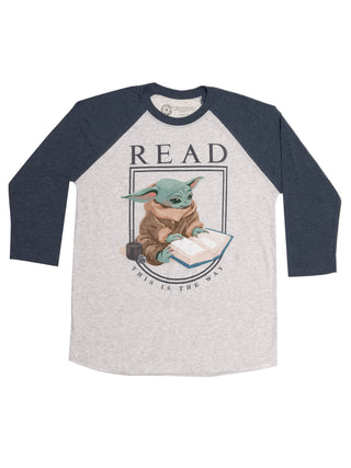 Star Wars Grogu™ READ Unisex 3/4-Sleeve Raglan