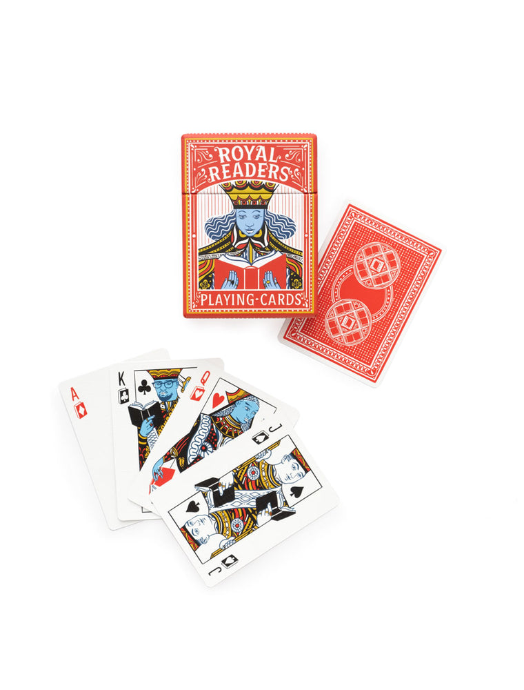Royal Readers Playing Cards