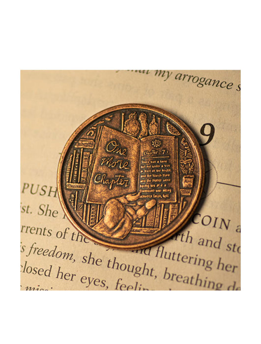 One More Chapter / Go to Bed Copper Decision Maker Coin