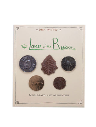 The Lord of the Rings™ Set #1 - Middle-earth (Set of Five Coins)
