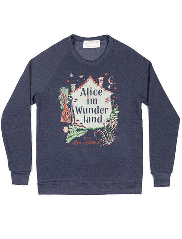 Alice in Wonderland: German Edition sweatshirt