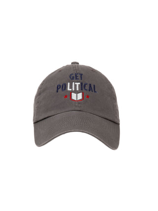 Get PoLITical cap (gray)