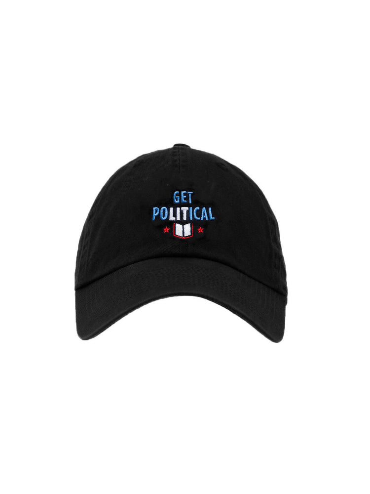 Get PoLITical cap (black)