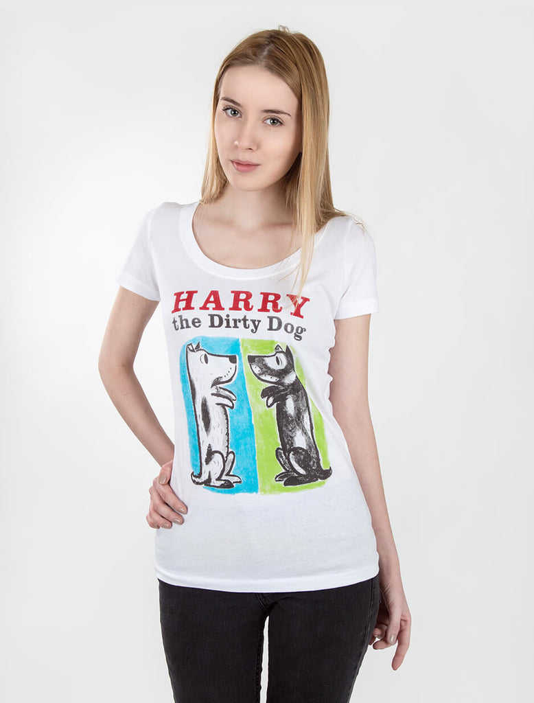 Harry the Dirty Dog Women's T-Shirt