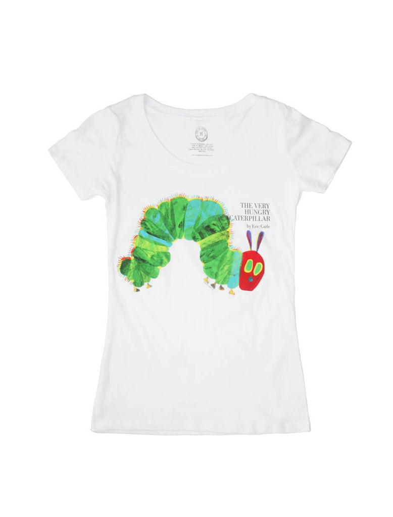 Very Hungry Caterpillar Women Book Shirt Out