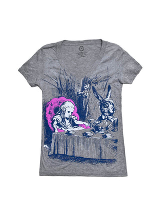 Alice in Wonderland Women's V-Neck T-Shirt
