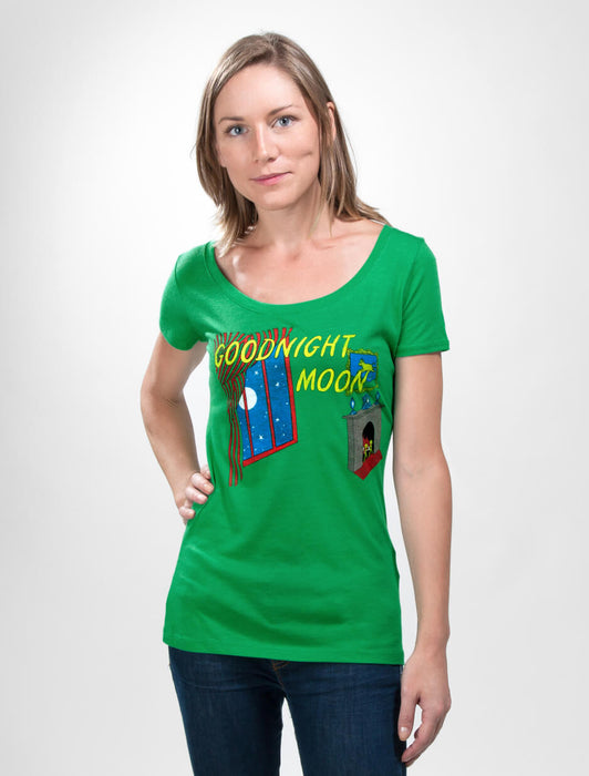 Goodnight Moon Women's Scoop T-Shirt
