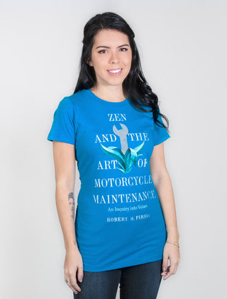 Zen and the Art of Motorcycle Maintenance Women's Crew T-Shirt