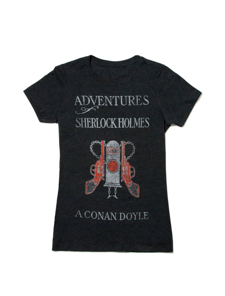 Adventures of Sherlock Holmes Women's Crew T-Shirt