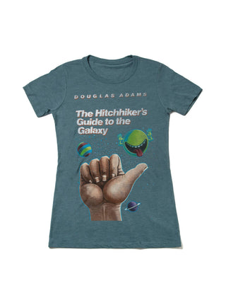 The Hitchhiker's Guide to the Galaxy Women's Crew T-Shirt