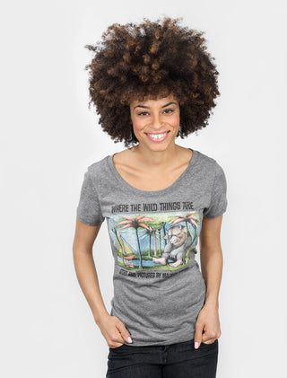 Where the Wild Things Are Women's Scoop T-Shirt