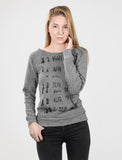 Library Stamp - Women's sweatshirt