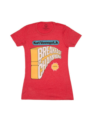 Breakfast of Champions Women's Crew T-Shirt