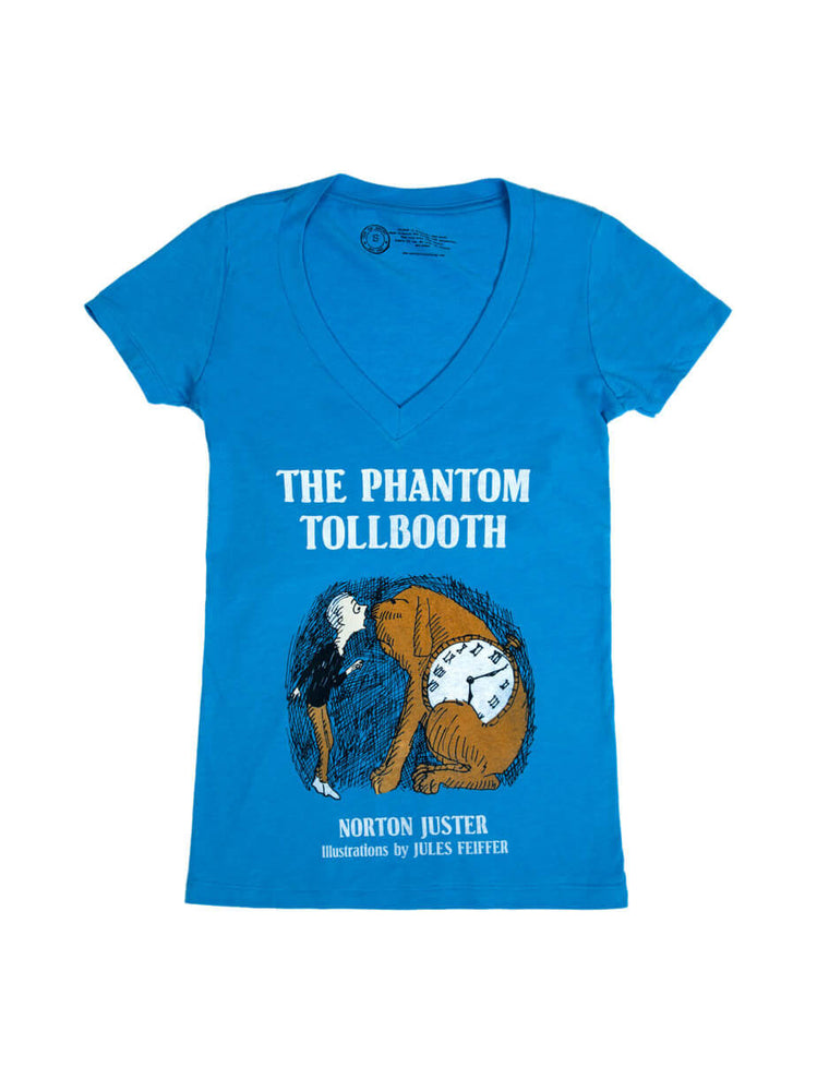 The Phantom Tollbooth Women's V-Neck T-Shirt