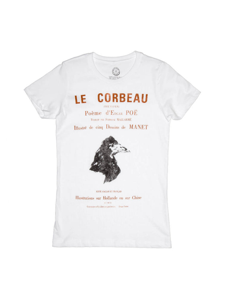 The Raven (French Edition) Women's Crew T-Shirt