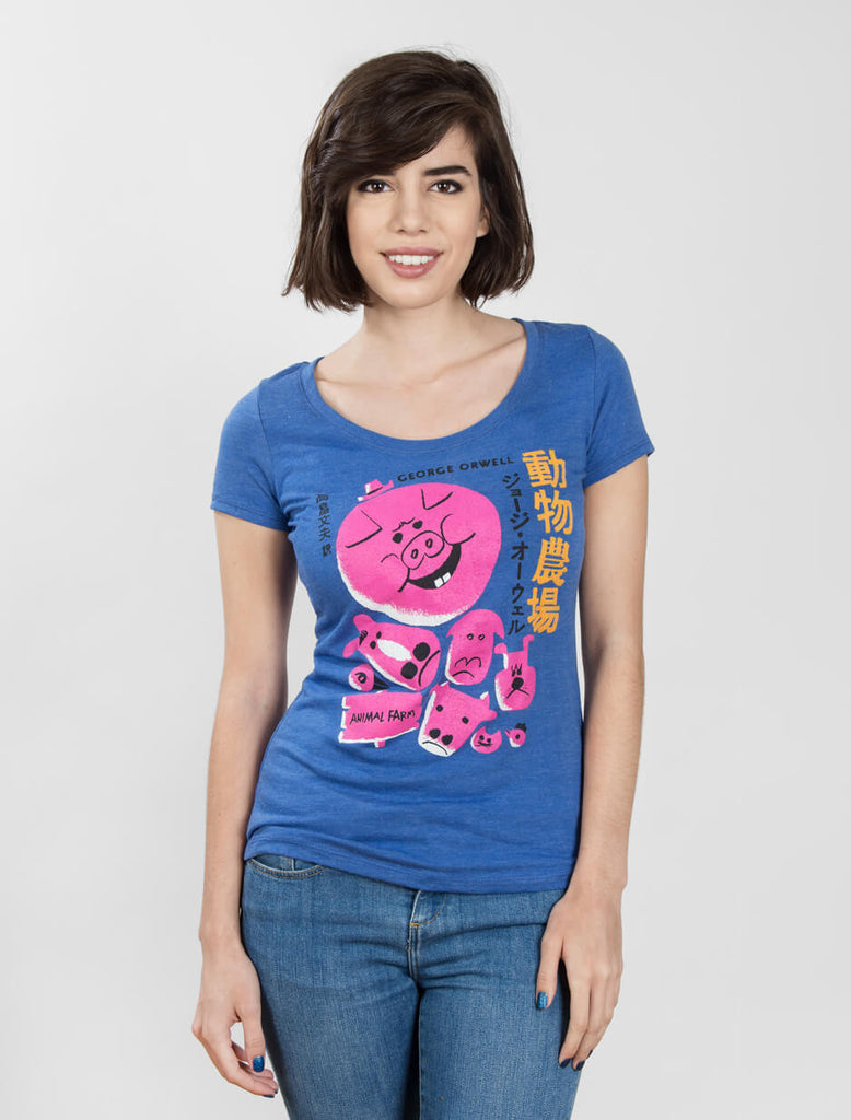 Animal Farm (Japanese Edition) Women's T-Shirt