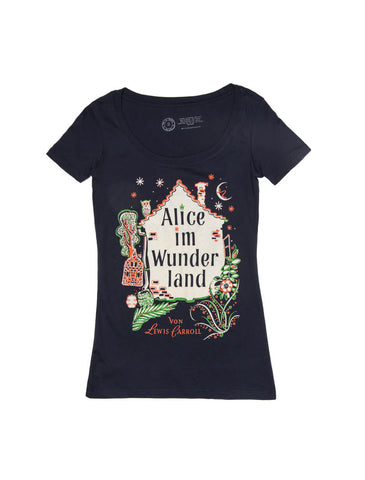Alice in Wonderland (German Edition) Women's T-Shirt