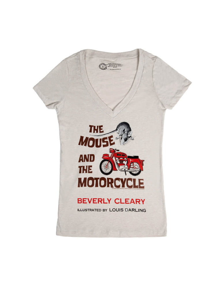 The Mouse and the Motorcycle Women's V-Neck T-Shirt
