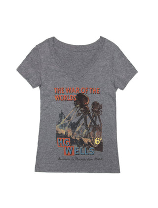 The War of the Worlds Women's V-Neck T-Shirt