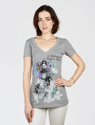 A Midsummer Night's Dream Women's V-Neck T-Shirt