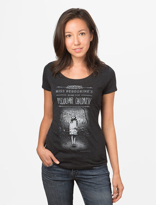 Miss Peregrine's Home for Peculiar Children Women's Scoop T-Shirt
