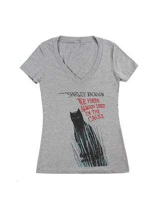 We Have Always Lived in the Castle Women's V-Neck T-Shirt
