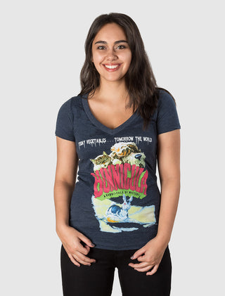 Bunnicula Women's V-Neck T-Shirt