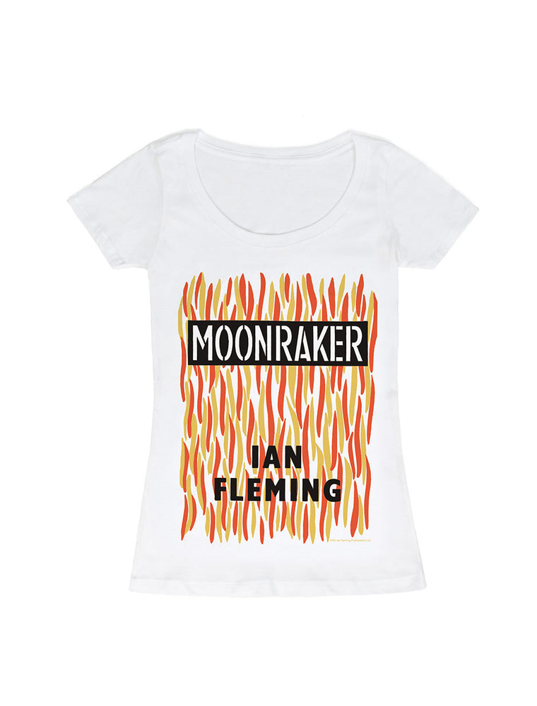 Moonraker - James Bond - book cover women's t-shirt
