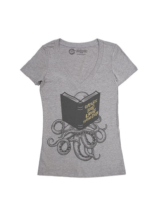 Fantastic Books & Where to Find Them Women's V-Neck T-Shirt