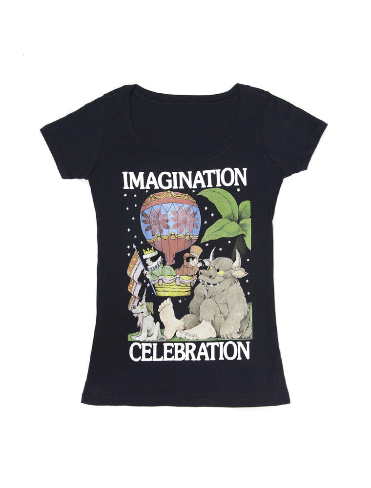 Imagination Celebration (Sendak) Women's Scoop T-Shirt