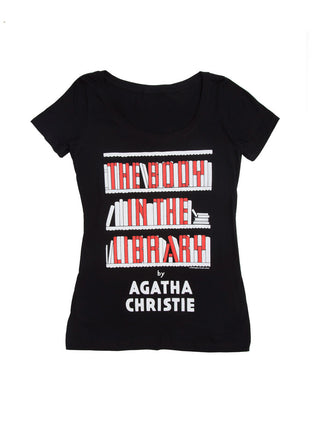 The Body in the Library Women's Scoop T-Shirt