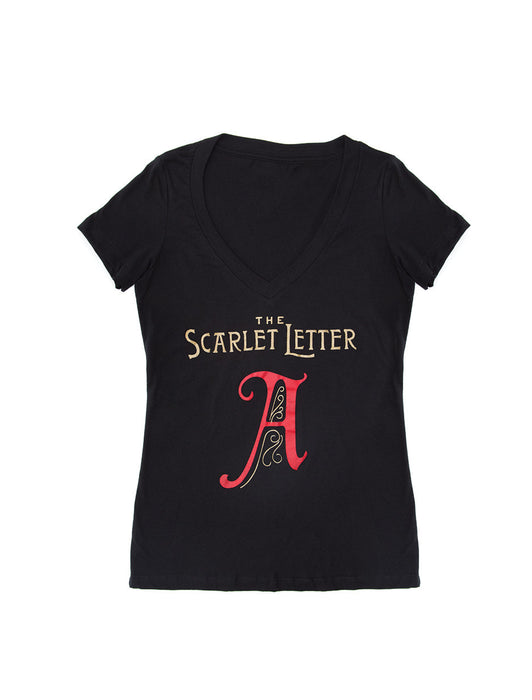 The Scarlet Letter Women's V-Neck T-Shirt
