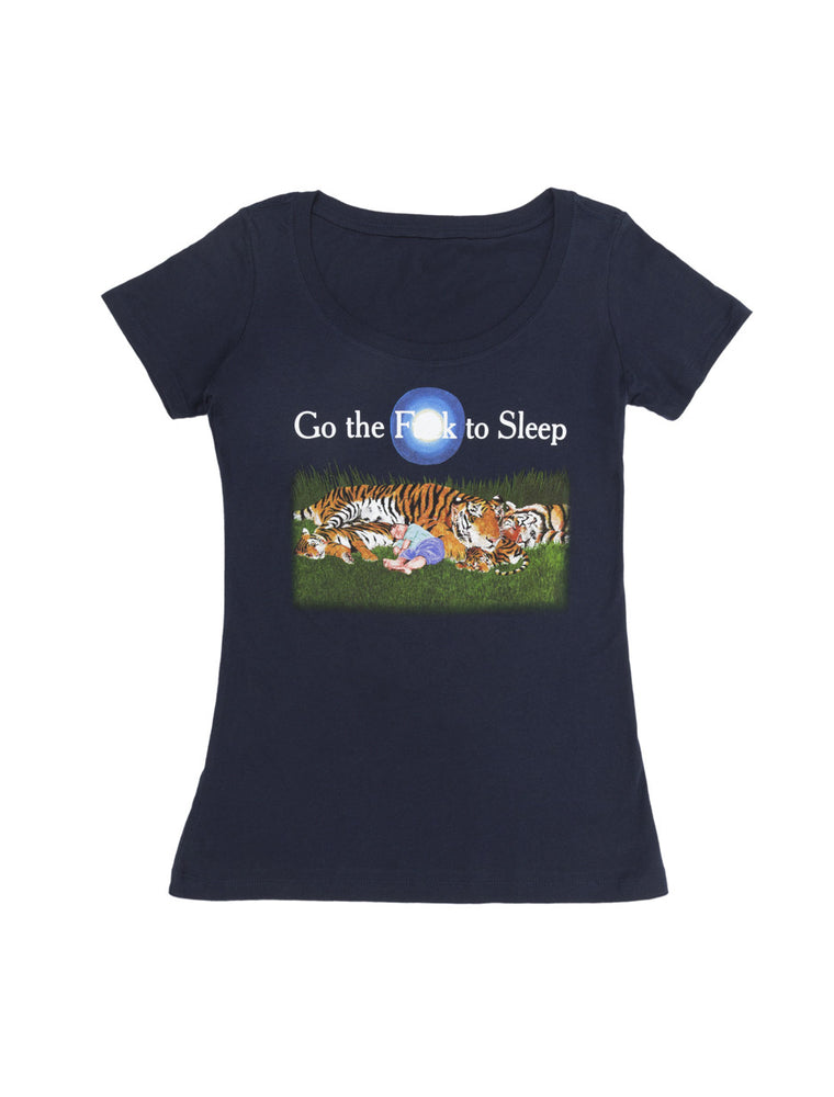 Go the F**k to Sleep Women's Scoop T-Shirt