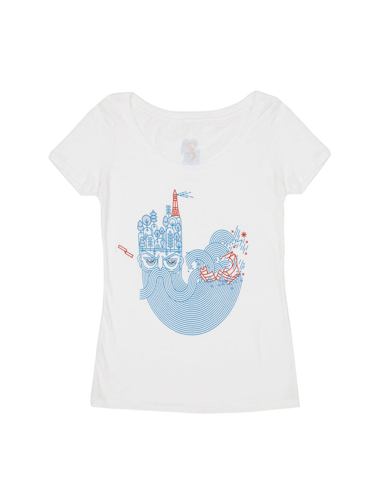 The Tempest Women's Scoop T-Shirt