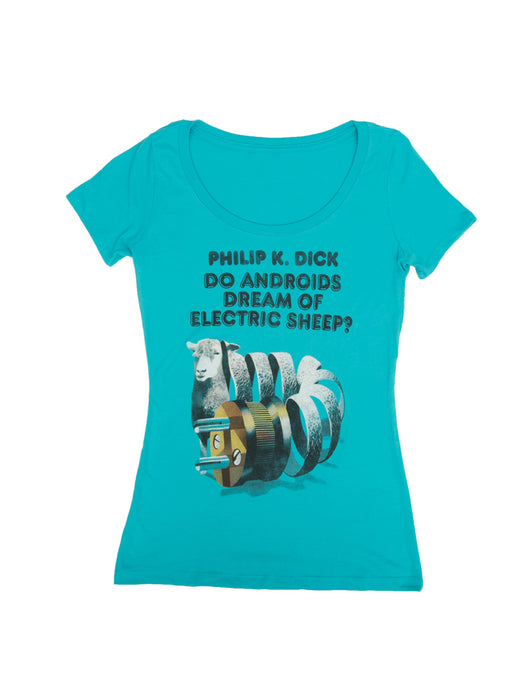 Do Androids Dream of Electric Sheep? Women's Scoop T-Shirt