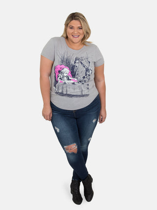 Alice in Wonderland Women's Plus Size T-Shirt