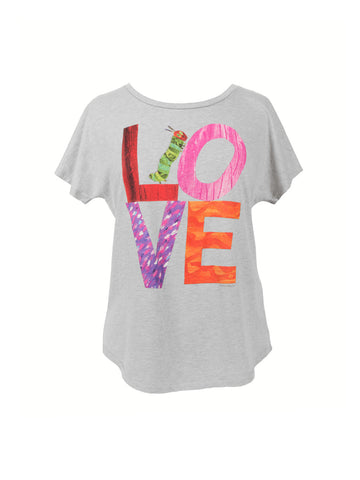 World of Eric Carle Love from The Very Hungry Caterpillar Women's T-Shirt (Dolman)