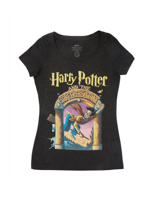 55bfd296c Harry Potter and the Sorcerer's Stone Women's Scoop T-Shirt ...