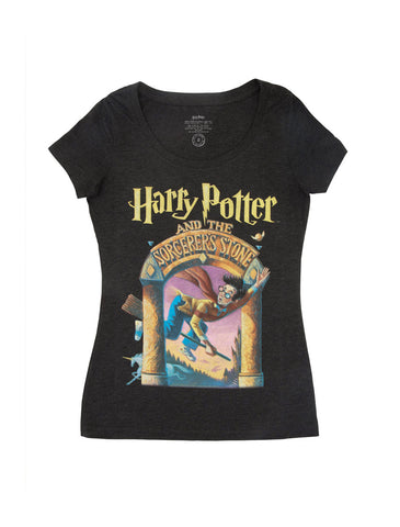 Harry Potter and the Sorcerer's Stone Women's Scoop T-Shirt