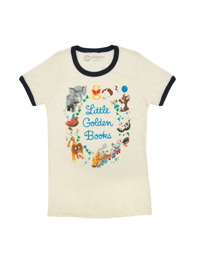 Little Golden Books Women's T-Shirt (Ringer)