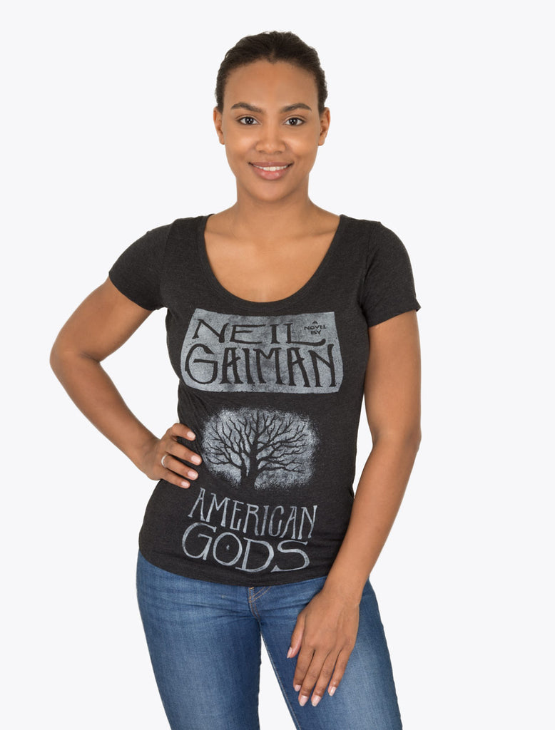 American Gods Women's T-Shirt (Black)