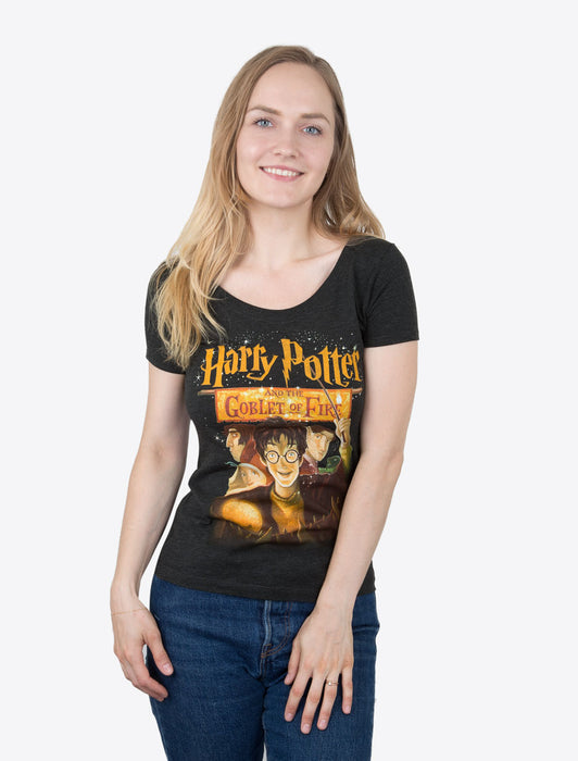 Harry Potter and the Goblet of Fire Women's Scoop T-Shirt